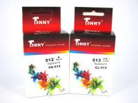 Tonny Compatible PG512 & CL513 Combo Ink