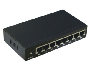 8 Port 10/100 Network Switch