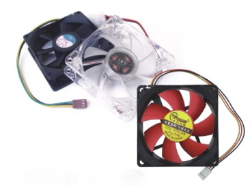 Red System Fan 8cm