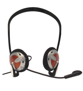 Neck Headphone With Built in Microphone