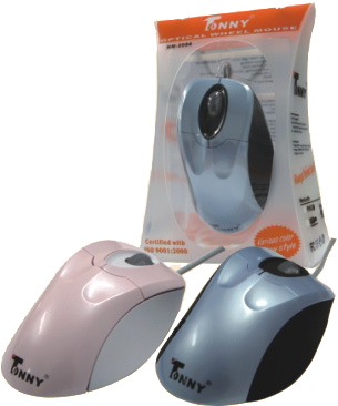 TONNY PS/2 Optical Mouse(Pink)