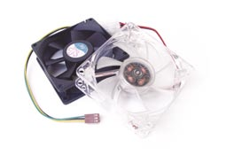 Clear System Fan 8cm
